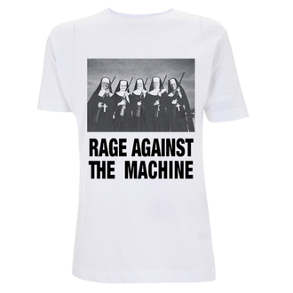 tričko pánské Rage Against The Machine - Nuns And Guns - White, NNM, Rage against the machine