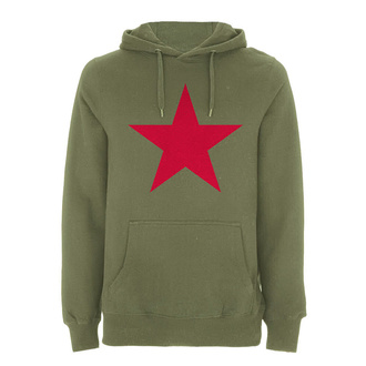 mikina pánská Rage against the machine - Red Star Olive - Green, NNM, Rage against the machine