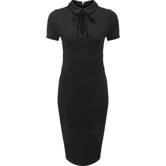 šaty dámské KILLSTAR - Rebekka Read - BLACK - KSRA000394