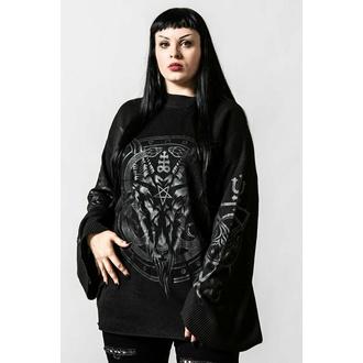 svetr unisex KILLSTAR - Revelation Knit - Black, KILLSTAR