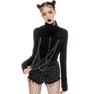 mikina dámská KILLSTAR - Rogue Masked - Black - KSRA003590