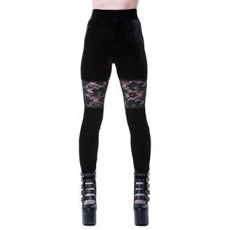 kalhoty dámské (legíny) KILLSTAR - ROSE MERRY - BLACK, KILLSTAR
