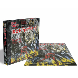 puzzle IRON MAIDEN - THE NUMBER OF THE BEAST - 1000 PIECE JIGSAW - PLASTIC HEAD, PLASTIC HEAD, Iron Maiden