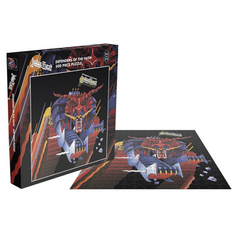 puzzle JUDAS PRIEST - DEFENDERS OF THE FAITH - PLASTIC HEAD, PLASTIC HEAD, Judas Priest
