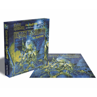puzzle IRON MAIDEN - LIVE AFTER DEATH - 500 PIECE JIGSAW - PLASTIC HEAD, PLASTIC HEAD, Iron Maiden