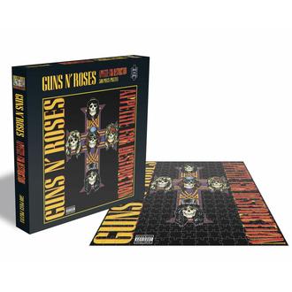 puzzle GUNS N' ROSES - APPETITE FOR DESTRUCTION 2 - 500 PIECE JIGSAW - PLASTIC HEAD, PLASTIC HEAD, Guns N' Roses