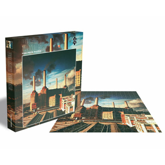 puzzle PINK FLOYD - ANIMALS - 1000 PIECE JIGSAW - PLASTIC HEAD, PLASTIC HEAD, Pink Floyd