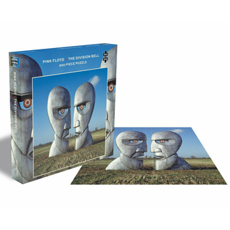 puzzle PINK FLOYD - THE DIVISION BELL - 500 PIECE JIGSAW PUZZLE - PLASTIC HEAD, PLASTIC HEAD, Pink Floyd