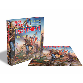puzzle IRON MAIDEN - THE TROOPER - 1000 PIECE JIGSAW - PLASTIC HEAD, PLASTIC HEAD, Iron Maiden