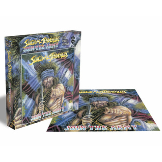 puzzle SUICIDAL TENDENCIES - JOIN THE ARMY - 500 PIECE JIGSAW - PLASTIC HEAD, PLASTIC HEAD, Suicidal Tendencies