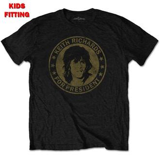 tričko dětské Rolling Stones - Keith For President - ROCK OFF, ROCK OFF, Rolling Stones