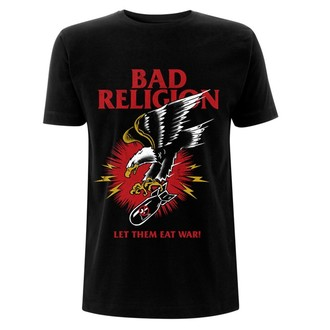 tričko pánské Bad Religion - Bomber - Eagle Black, Bad Religion