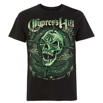 tričko pánské Cypress Hill - Fangs Skull - Black, NNM, Cypress Hill