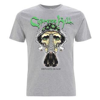 tričko pánské Cypress Hill - Skull Bucket - Grey, NNM, Cypress Hill