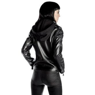 bunda dámská (křivák) KILLSTAR - Ruth Less Veganomicon Biker - Black