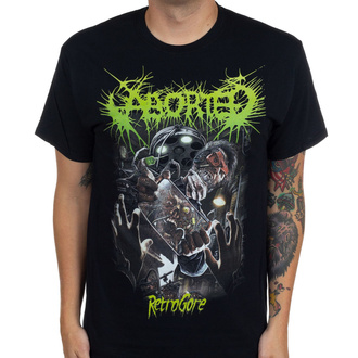 tričko pánské Aborted - Retrogore - INDIEMERCH, INDIEMERCH, Aborted