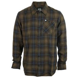 košile pánská METAL MULISHA - BANK - MGN_FA7504001.01