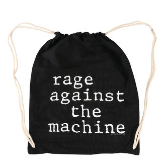 vak Rage Against the Machin - Stack Logo - Black Drawstring, Rage against the machine