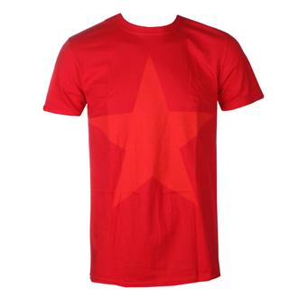 tričko pánské Rage against the machine - Red Star - Red, NNM, Rage against the machine