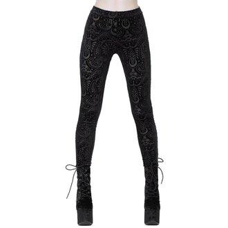 kalhoty dámské (legíny) KILLSTAR - Saiph - BLACK, KILLSTAR