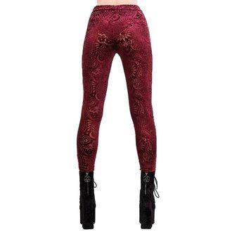 kalhoty dámské (legíny) KILLSTAR - Saiph - WINE, KILLSTAR