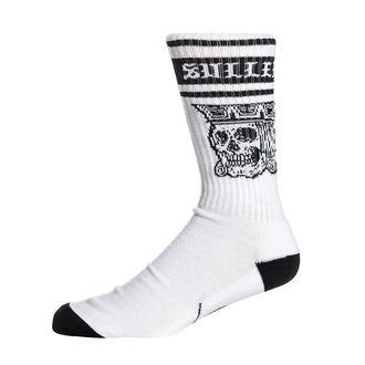 ponožky SULLEN - JACKED - WHITE/BLACK, SULLEN