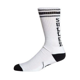 ponožky SULLEN - SPIT FIRE - WHITE/BLACK, SULLEN