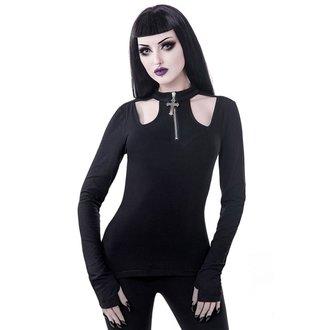 tričko dámské s dlouhým rukávem KILLSTAR - Scarlet - BLACK, KILLSTAR