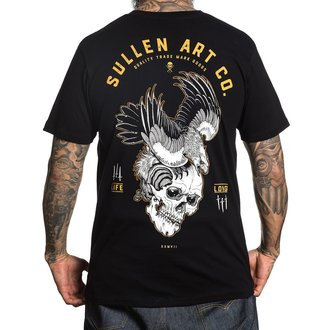 tričko pánské SULLEN - BLAQ EAGLE - BLACK, SULLEN