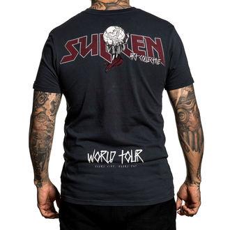 tričko pánské SULLEN - WORLD TOUR - BLACK, SULLEN