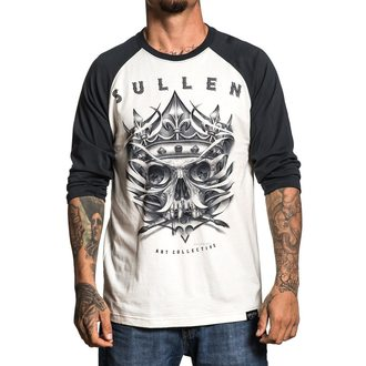 tričko pánské s 3/4 rukávem SULLEN - EVIL KOLORS ANTIQUE - WHITE/BLACK, SULLEN