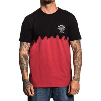 tričko pánské SULLEN - COBRA BLOOD DIP DYE - BLACK/DARK RED, SULLEN