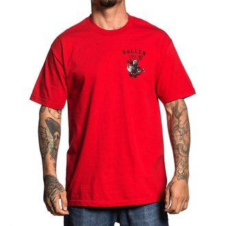 tričko pánské SULLEN - LOVE MACHINE - RED, SULLEN
