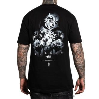 tričko pánské SULLEN - COOL GRAY - BLACK - SCM2314_BK