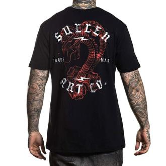 tričko pánské SULLEN - SNAKE WASH - BLACK - SCM2401_BK