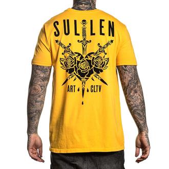 tričko pánské SULLEN - 3 SWORDS - GOLD FUSION - SCM2428_GF