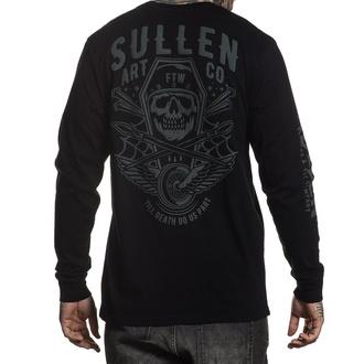 tričko pánské s dlouhým rukávem SULLEN - ORTEGA - BLACK - SCM2667_BK