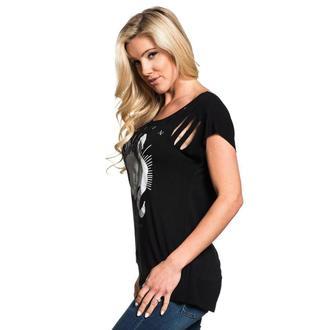 tričko dámské SULLEN - BREDIMUS - BLACK, SULLEN