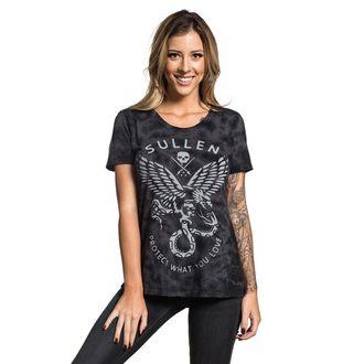 tričko dámské SULLEN - ENGAGE - BLACK - SCW1873_BK