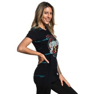 tričko dámské SULLEN - JADE TIGER - BLACK, SULLEN