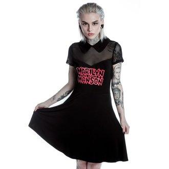 šaty dámské KILLSTAR - MARILYN MANSON - Sedat- Black, KILLSTAR, Marilyn Manson