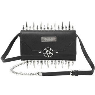 taška (kabelka) KILLSTAR - SHE DEVIL CLUTCH - BLACK, KILLSTAR