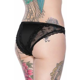 kalhotky dámské KILLSTAR - Shes Poison - BLACK, KILLSTAR