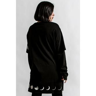 tričko unisex s dlouhým rukávem KILLSTAR - Shine Bright 2-Layer - Black, KILLSTAR