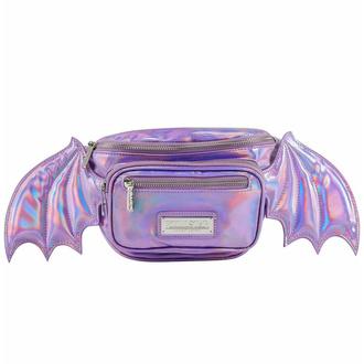 taška (ledvinka) KILLSTAR - Sickly Sweet -  Holographic Lilac - KSRA004265