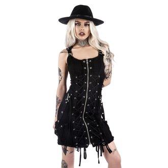 šaty dámské KILLSTAR - Sinder Hella - Black - K-DRS-F-2638