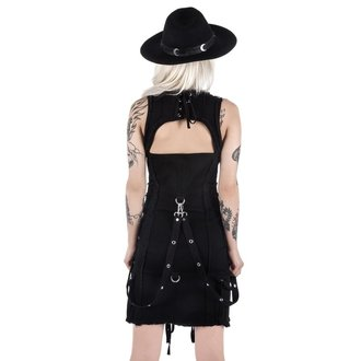 šaty dámské KILLSTAR - Sinder Hella - Black, KILLSTAR