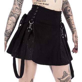 sukně dámská KILLSTAR - Sinister Scouts - Black - K-SKR-F-2724