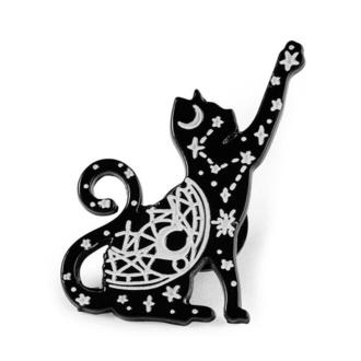 připinaček KILLSTAR - Sky Kitty Enamel, KILLSTAR