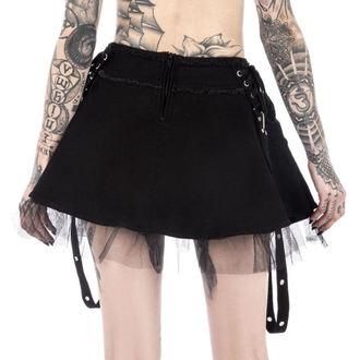 sukně dámská KILLSTAR - Slay Her - Black, KILLSTAR